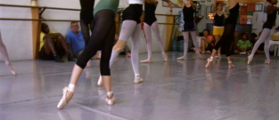 Rehearsal feet